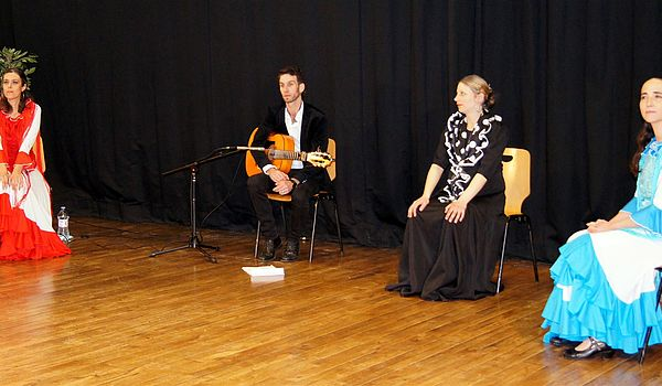 Spectacle avec Duende Flamenco