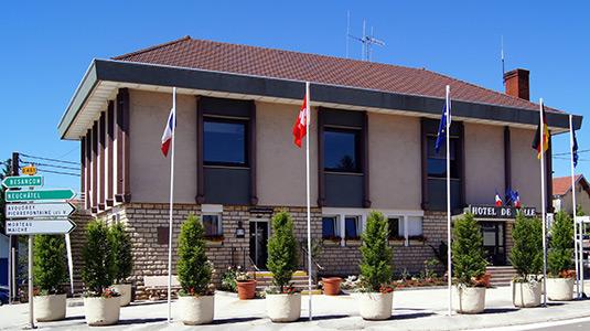 Hotel de Ville Valdahon en Image